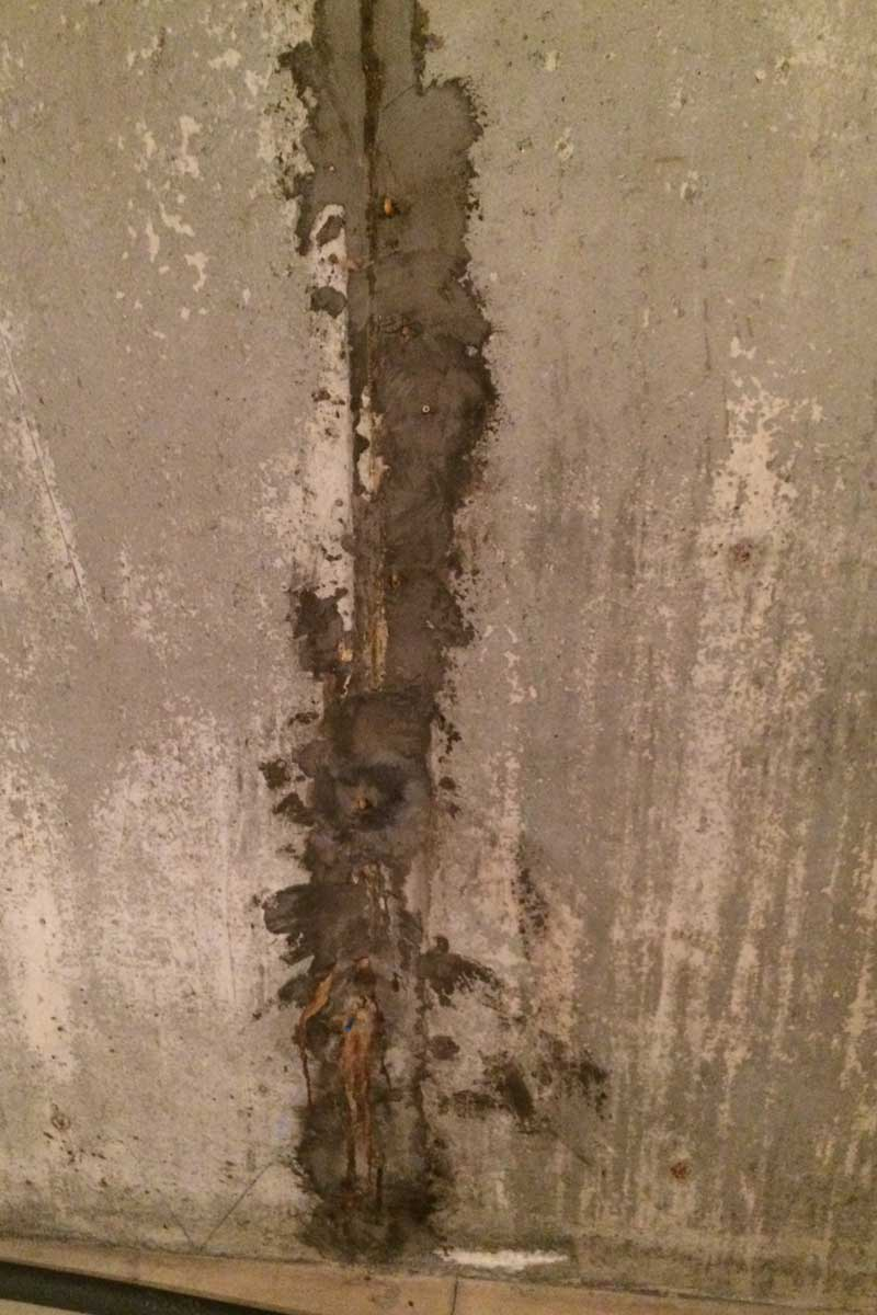 Hydraulic Cement Myth Watertite Foundation Crack Repair